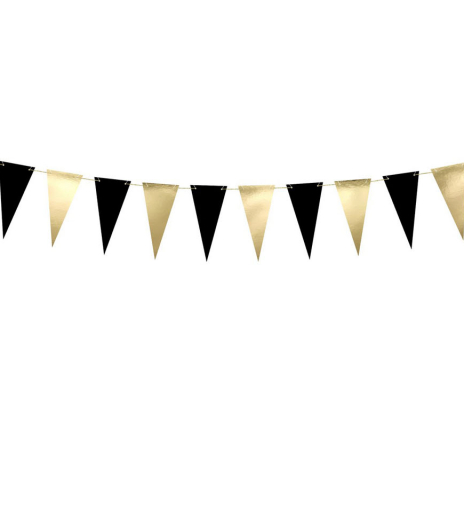 PartyDeco - Bunting, mix (1 ks)