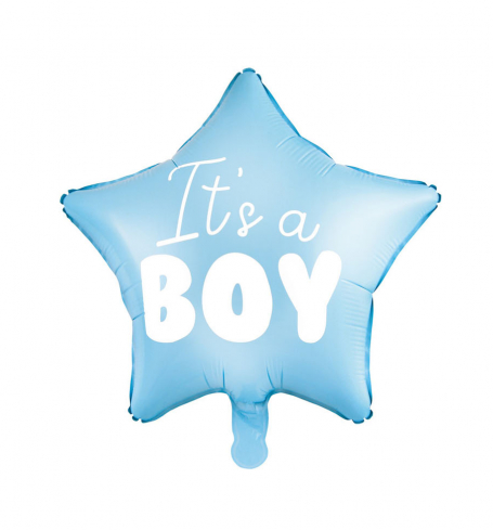 Party balónek - folióvý - Balloon Star - It's a boy (1 ks) - BL06-0006