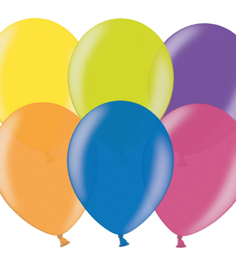 PartyDeco - Celebration Balloons, Ø 29 cm, mix (100 ks)