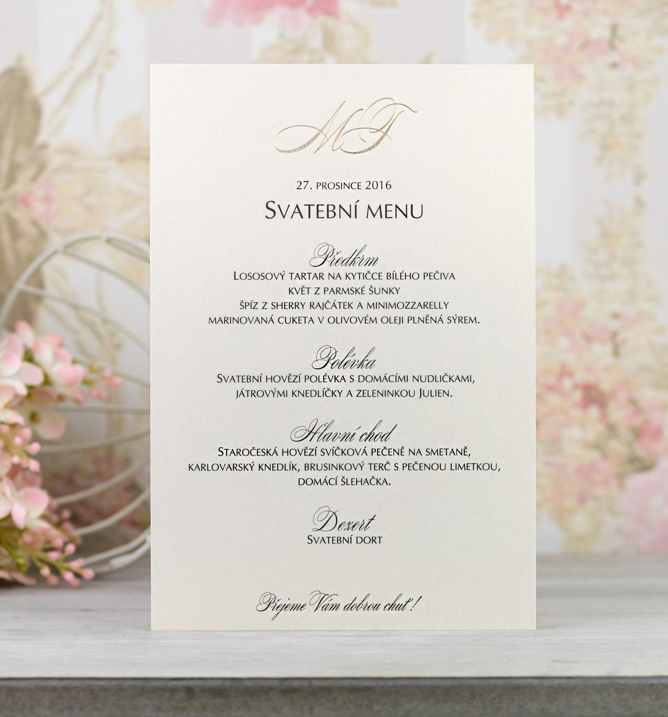 2d616496d9a8 Svadobné menu - M2078